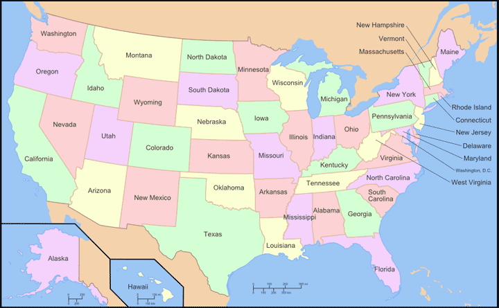 Best 25 United States Map Ideas On Pinterest Usa Maps Map Of US